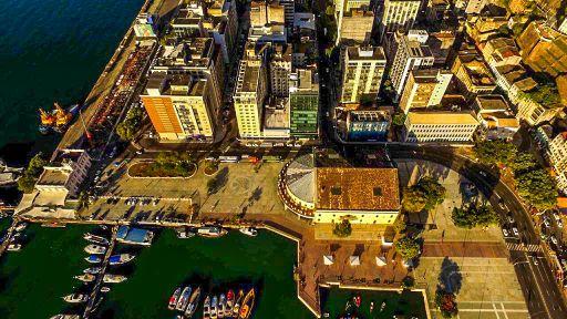 Foto: Região do Comércio, que será o primeiro bairro inteligente da cidade - Valter Pontes/Prefeitura de Salvador